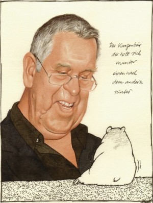 Karikatura: Gerhard Haderer