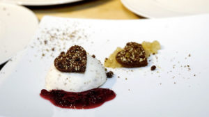 Honigkuchen-Walnuss-Parfait