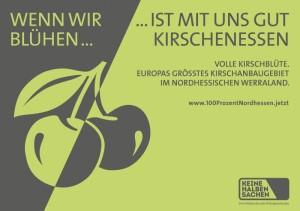 Die Energiewende in Nordhessen steht im Fokus einer Plakataktion. Foto: nh