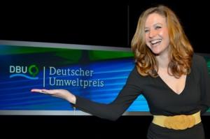 Moderatorin Katrin Bauerfeind führte erfrischend und amüsant durch den Abend. Foto: Markus Frohme