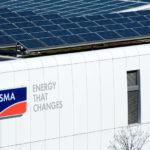 Blick auf die SMA Wechselrichter-Fabrik. Foto: SMA Solar Technology AG