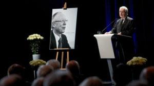 Feierlicher Abschied von Günther Cramer