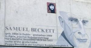 """In der Architektur der """"Samuel-Beckett-Anlage"""" verwurzelt: die Liebe Becketts zu Peggy Sinclair. Foto: KBMK"""