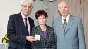 Ehrennadel der Stadt Kassel an Dr. Joachim Schröder