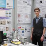 Arne Hensel als Landessieger der Chemie 2014. Foto: Schülerforschungszentrum.