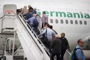 Die Passagierzahlen des Vorjahres sind im Vergleich zu 2013 gestiegen, wenn auch langsam. Foto: Kassel Airport