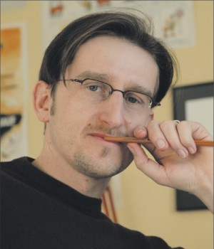 Phil Hubbe. Foto: Caricatura