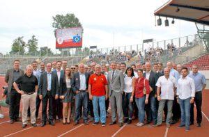 Gruppenbild der Teilnehmer am MoWiN.net-Netzwerktreffen. Foto: nh