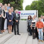 """Rund 30 Personalleiterinnen und Personalleiter erkundigten sich über """"Datenschutz im Betrieb"""" bei Plansecur in Kassel. Foto: nh"""