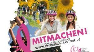 Pink Ribbon Deutschland: Radtour-Finale in Kassel