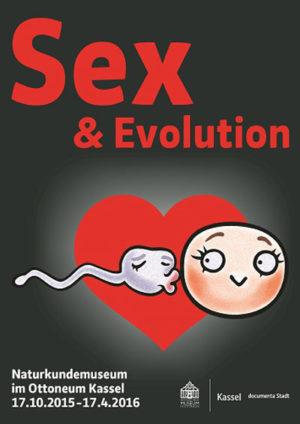 Plakat der Ausstellung Sex und Evolution. Quelle: Stadt Kassel