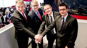 Wirtschaftsförderer besiegeln Kooperation