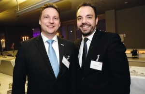 Gemeinsam treiben Kai-Lorenz Wittrock, Geschäftsführer der Wirtschaftsförderung, und Stadtkämmerer Christian Geselle die internationalen Ambitionen der hiesigen Unternehmen voran