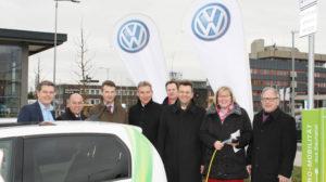 Erstes E-Ladesäulensystem für Großparkplatz in Nordhessen