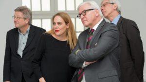 Steinmeier zu Besuch im Fridericianum