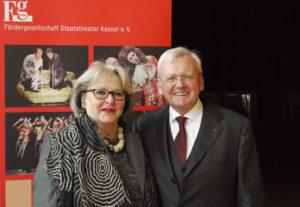 Freuen sich auf die Zusammenarbeit im Vorstand der Fördergesellschaft: Monika Gerke-Heine (neu gewähltes Vorstandsmitglied) und Vorsitzender Hans-Dieter Müller. Foto: nh