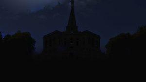 Herkules und Rathaus zur Earth Hour im Dunkeln