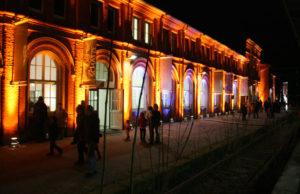 Ort des Geschehens: Der Südflügel des Kulturbahnhofs. Foto: nh