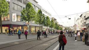 Neue Oberflächen für Untere Königsstraße
