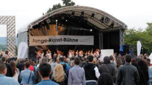 Junge Kunst Bühne Kassel beim Stadtfest