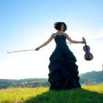 Das Klassik-Highligt mit Tianwa Yang findet im Hof von Schloss Berlepsch statt. Foto: Friedrun Reinhold