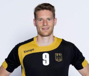 Von der MT Melsungen verpflichtet: Handball-Profi Tobias Reichmann. Foto: Marco Wolf/DHB