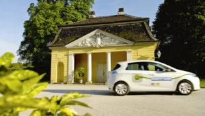 Sechs Renault Zoe sind in das E-Carsharing der KVG in Kassel integriert. Foto: Regionalmanagement Nordhessen GmbH