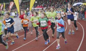 Der Publikumsliebling: Der Mini-Marathon mit fast 5.000 Kids.