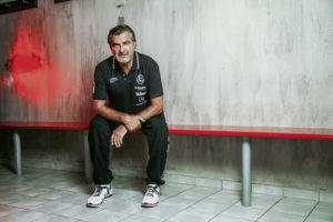 Michael Roth, Handball-Trainer der MT Melsungen in der ersten Bundesliga.
