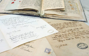 Dokumente der Brüder Grimm. Foto: Stadt Kassel
