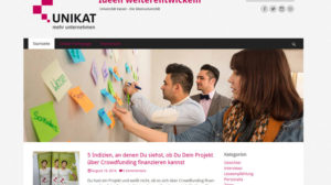 Uni Kassel: neuer Blog über Start-ups