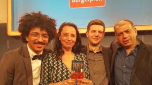 Deutscher Bürgerpreis: Oberbürgermeister Hilgen gratuliert Streetbolzern