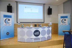 EHF-Cup-Auslosung in Wien: Foto: n.h.