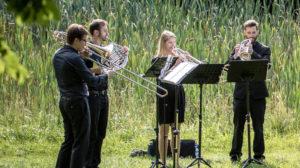Musik in Wäldern und Gärten