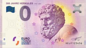 Neue Edition des Herkules-0-€-Souvenirscheins erhältlich