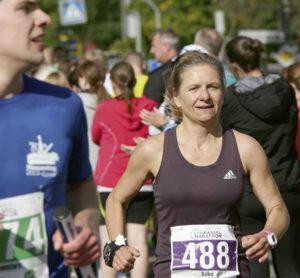 Sie durfte sich über Platz drei bei den Frauen freuen: Silke Altmann.