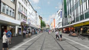 Kassel: modernste Lichttechnik für die Königsstraße