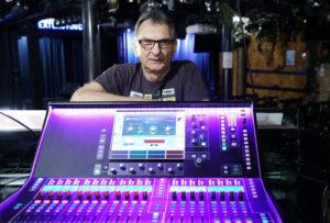 """Bester Tontechniker der Welt"": Rolf Dressler. Foto: Mario Zgoll"