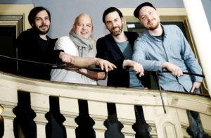 Die neuen Organisatoren freuen sich auf den Kulturzelt-Sommer: Mathias Jakob, Jürgen Truß, Bernhard Weiß und Lutz Reimer (v.l.). Foto: Mario Zgoll
