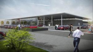 Autohaus der Zukunft