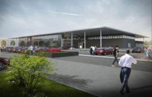 Animierte Grafik zum Neubau. Foto: EF Autocenter Kassel GmbH