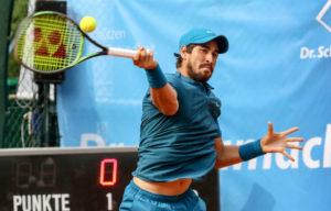 Siegte 2018 bei den Wilhelmshöhe Open: Orlando Luz aus Brasilien. Foto: Dieter Schachtschneider