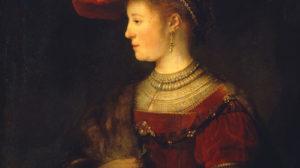Die Muse mit dem roten Hut