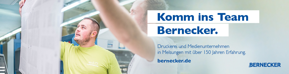 Komm in's Team Bernecker