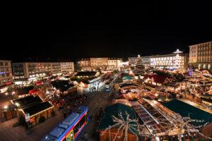Auf dem Kasseler Märchenweihnachtsmarkt kann man die Vorweihnachtszeit in besonderer Atmosphäre genießen. Foto: Kassel Marketing GmbH/Paavo Blåfield